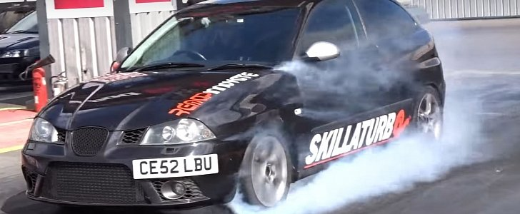 310 hp seat ibiza 1.9 tdi does toxic quarter mile run - autoevolution