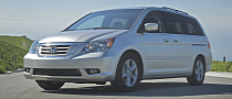 344,000 Honda Odyssey Minivans Getting Recalled for Braking Problem