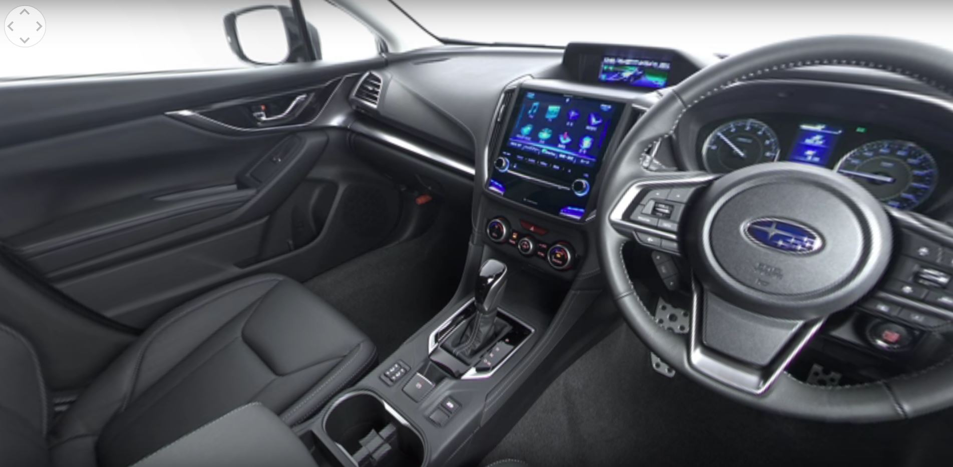 360 Degree Video Of 2017 Impreza Interior Released By Subaru In An