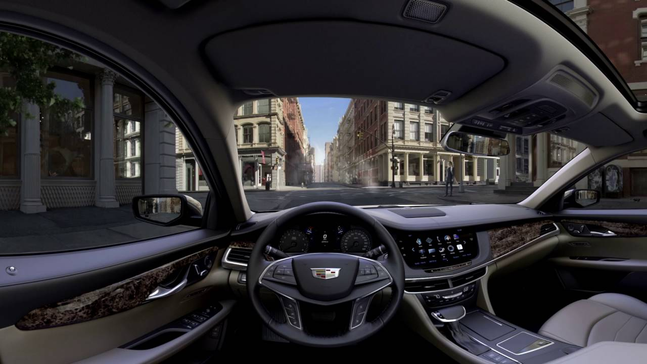 360 degree videos of cadillac ct6 and xt5 interiors are epic autoevolution. Black Bedroom Furniture Sets. Home Design Ideas