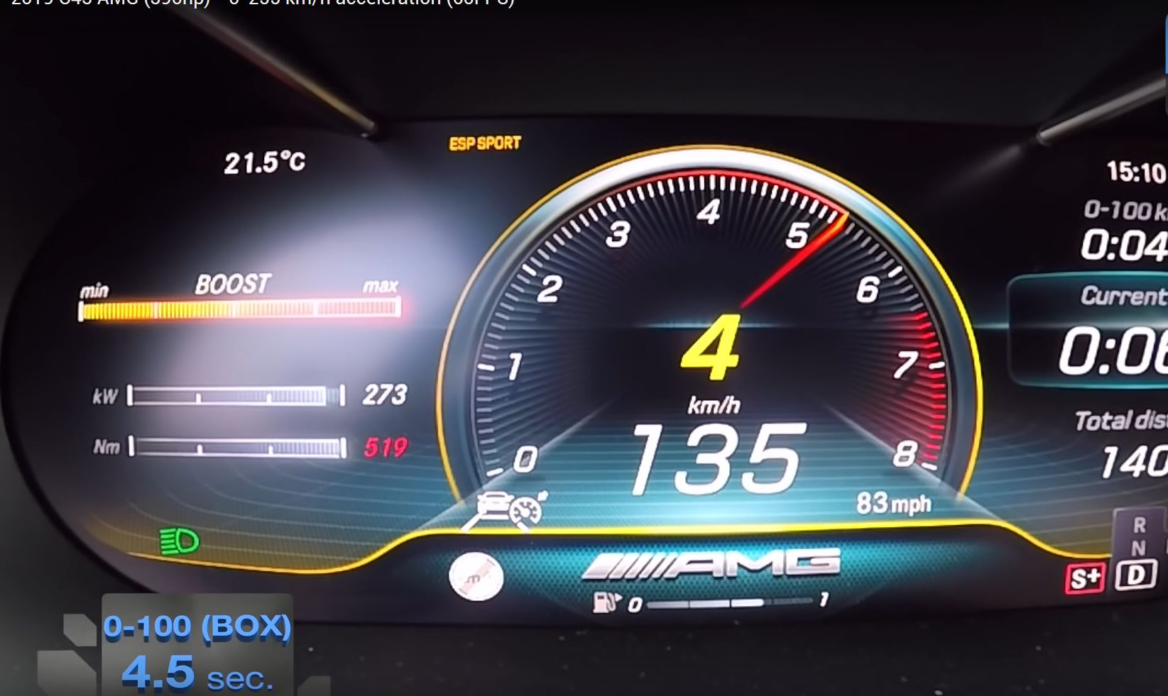 390 HP 2019 Mercedes-AMG C43 Hits 100 KM/H in 4 5 Seconds, Sounds