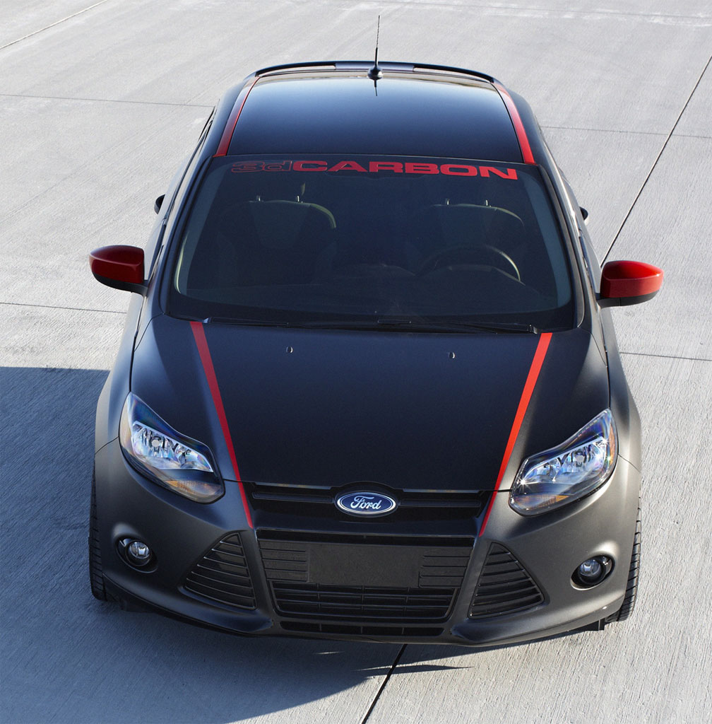 3M Paint Protection Film >> 3dCarbon Ford Focus Displayed at 2010 L.A. Auto Show - autoevolution