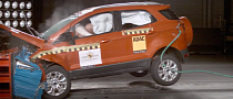 4-Star Rating for Ford EcoSport from Euro NCAP