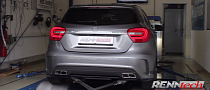400+ hp A 45 AMG by RENNtech in The Works [Video]