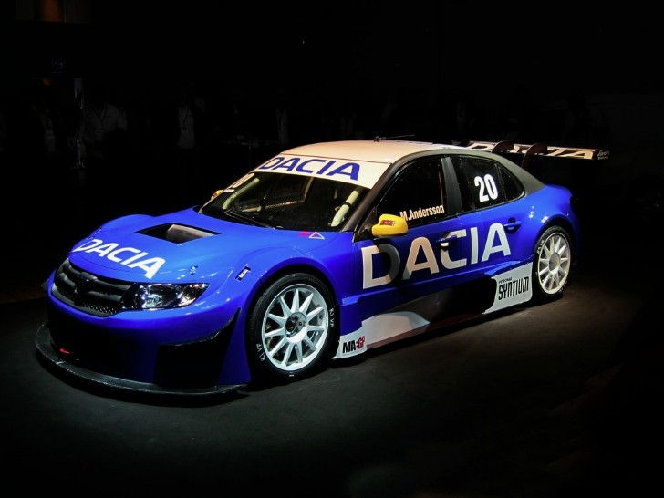Dacia Logan With 400 HP V6 to Race in Sweden