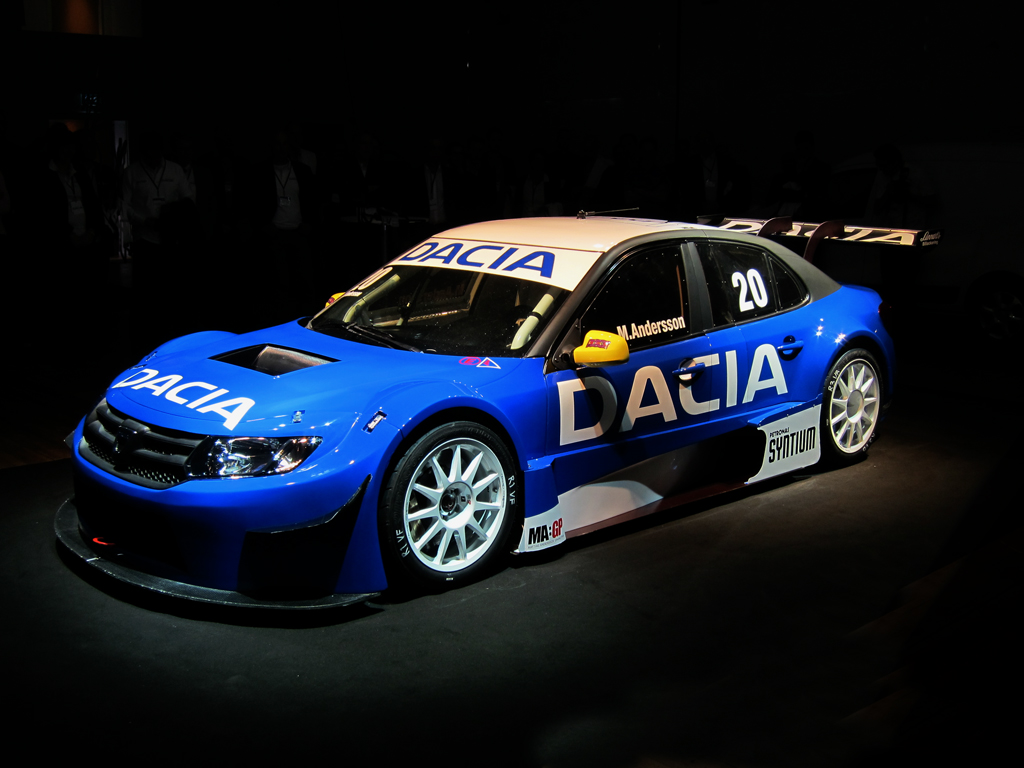 Dacia Logan With 400 Hp V6 To Race In Sweden Autoevolution