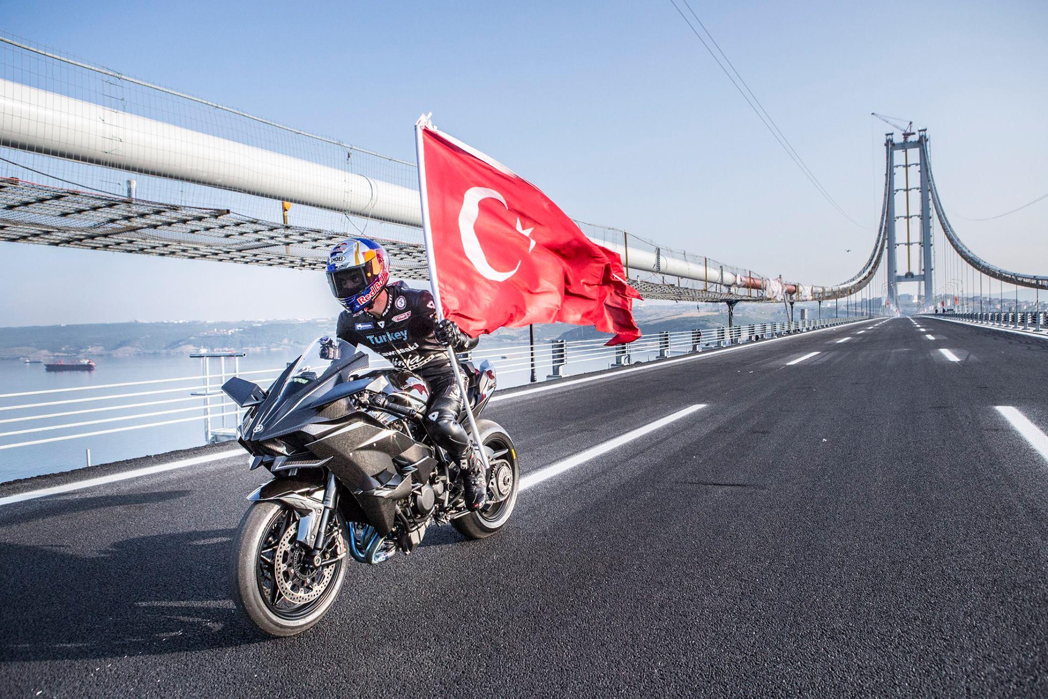 400 Kmh In 26 Seconds Aboard A Kawasaki Ninja H2r