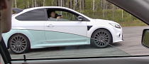 420 HP Ford Focus RS Takes on a Tuned Volvo S40 [Video]