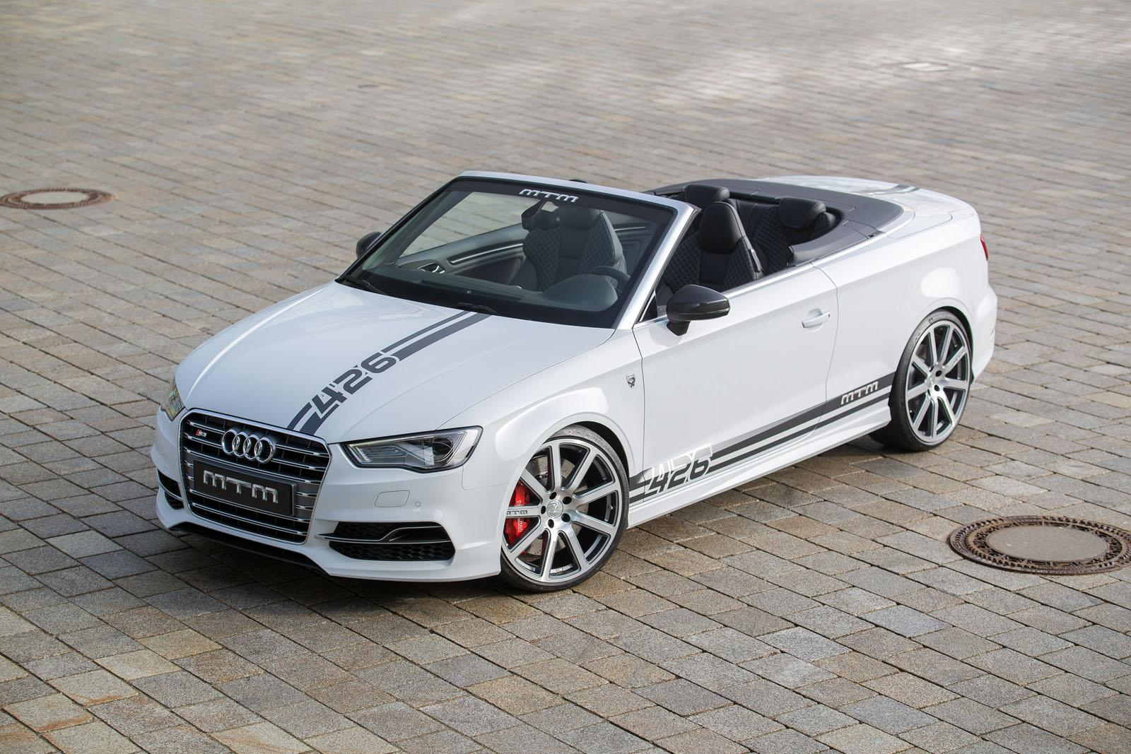 426 hp for mtm s audi s3 cabriolet autoevolution. Black Bedroom Furniture Sets. Home Design Ideas