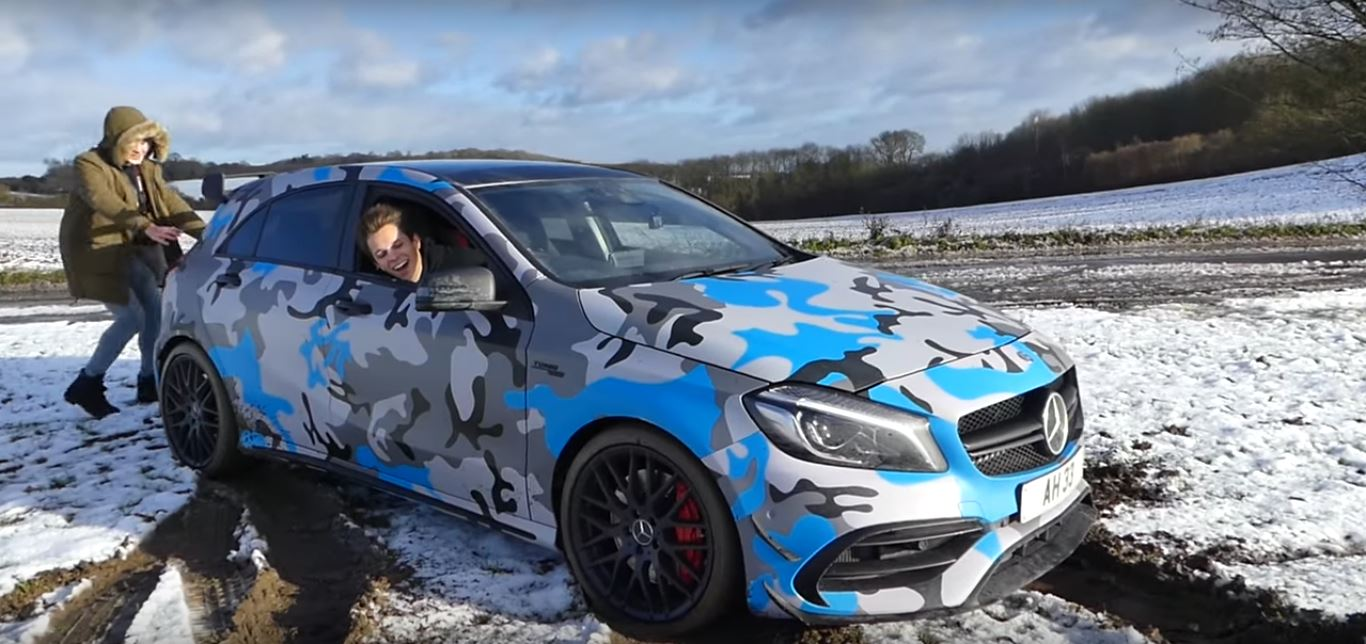 450 Hp Mercedes Amg A45 Arctic Snowmobile Goes Offroading Gets