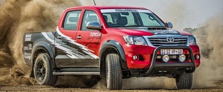 Titan Auto Sales >> 455-Horsepower Toyota Hilux is a Rare Mix of Motorsport ...