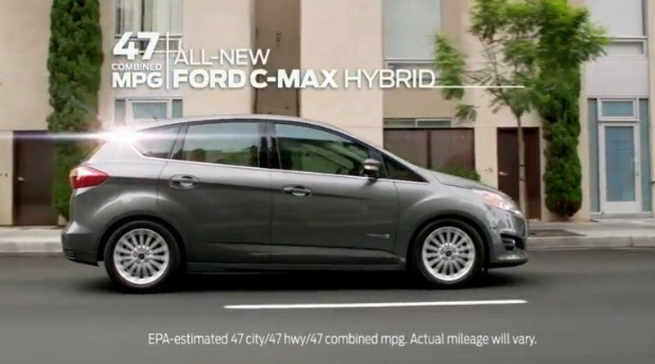 47 MPG Ford C-Max Hybrid First Gets Commercials [Video]