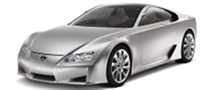 480 HP Lexus LF-A Still on Track