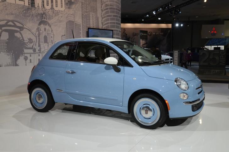5-Door Fiat 500 to Rep Punto in 2015 - autoevolution