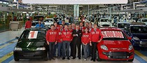 5 Millionth Car Produced in Fiat's SATA Plant