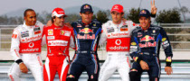 5 World Champions Grid to Break F1 Record in 2011