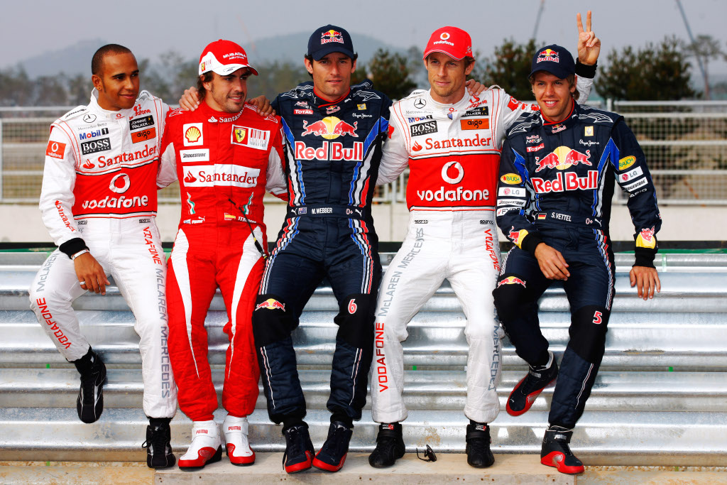 5 World Champions Grid to Break F1 Record in 2011 ...