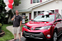 50-millionth Toyota Customer Gets Free RAV4 SUV [Video]