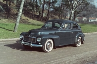 Volvo PV544 was the first car to feature a three-point safety belt as standard