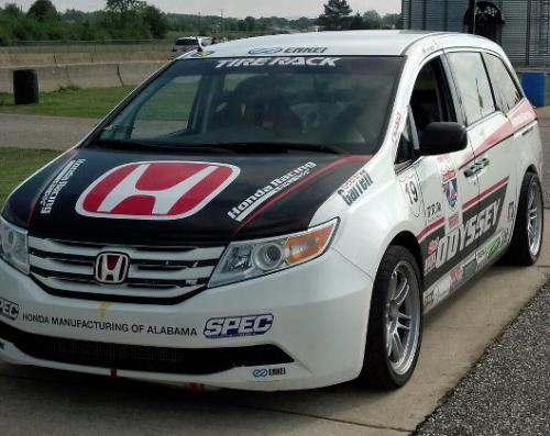500 Hp Honda Odyssey To Race At 2013 Pikes Peak