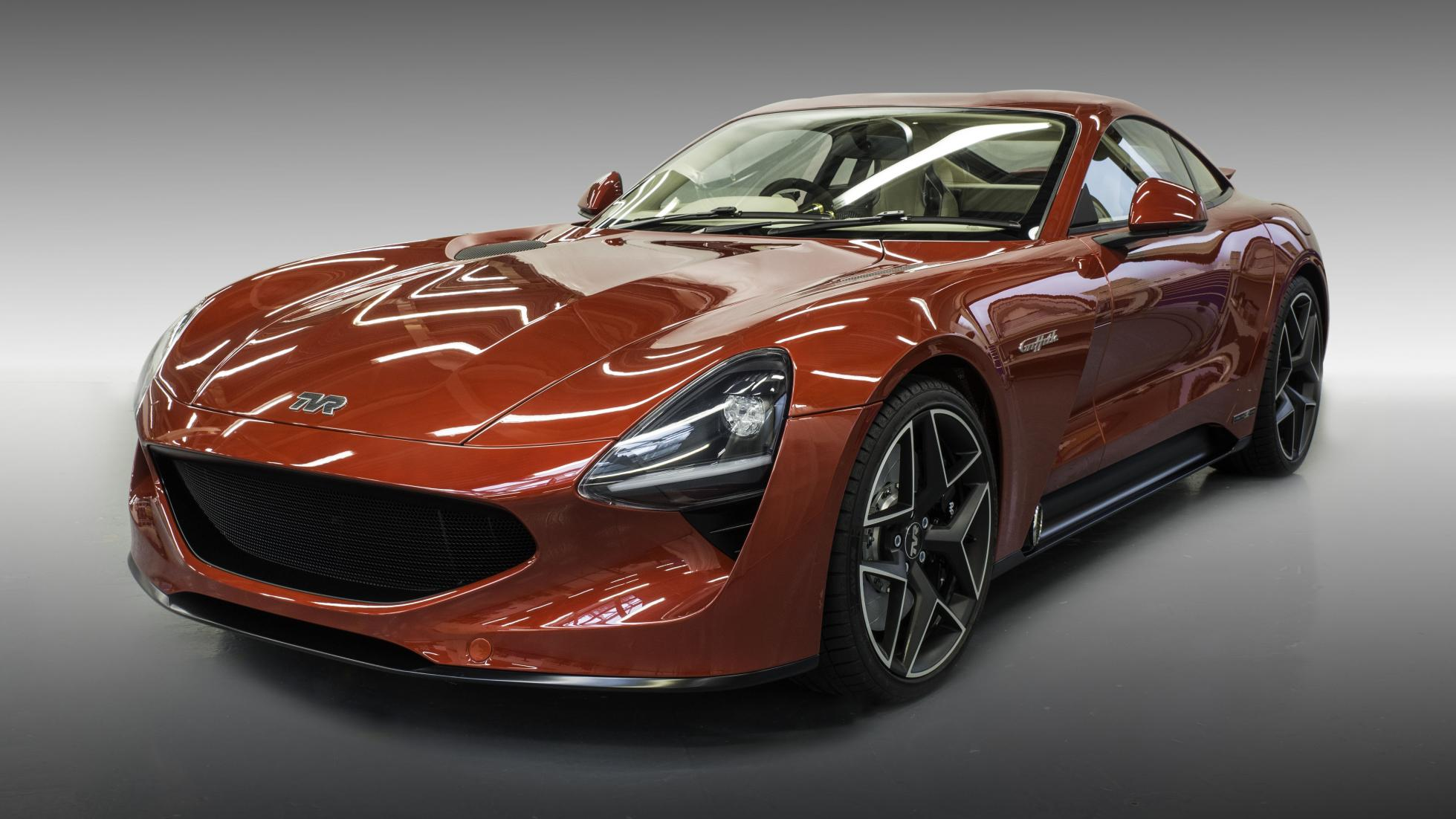 TVR Griffith unveiled at Goodwood Revival