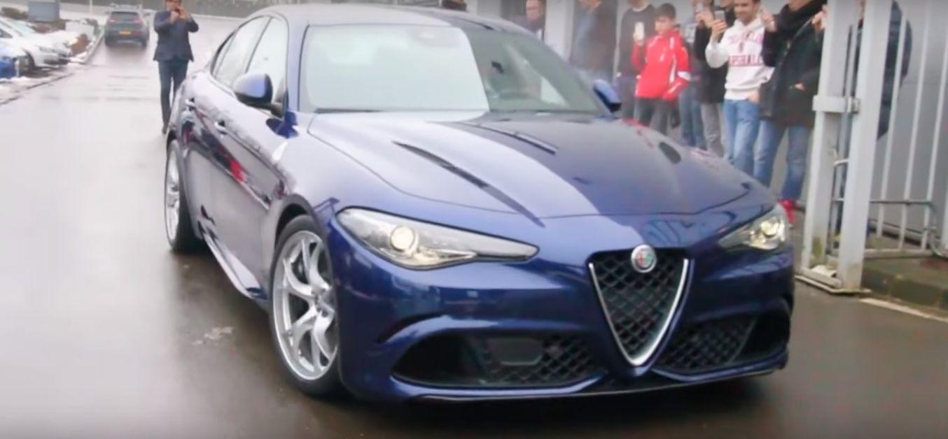 510 Hp Alfa Romeo Giulia Qv Filmed At Dealer Sounds Like It S