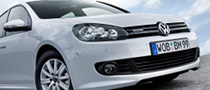 540 Volkswagen Golf BlueMotion Vehicles Become UK Rental Cars
