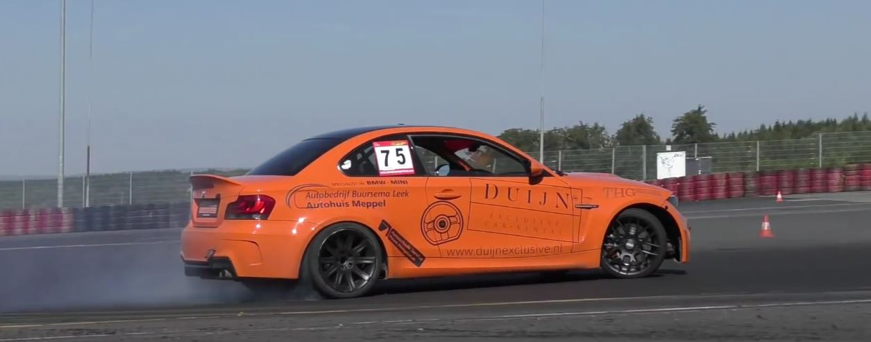 550 Hp Bmw 1m Coupe Turned Drift Car Gets It On At The Nurburgring Autoevolution