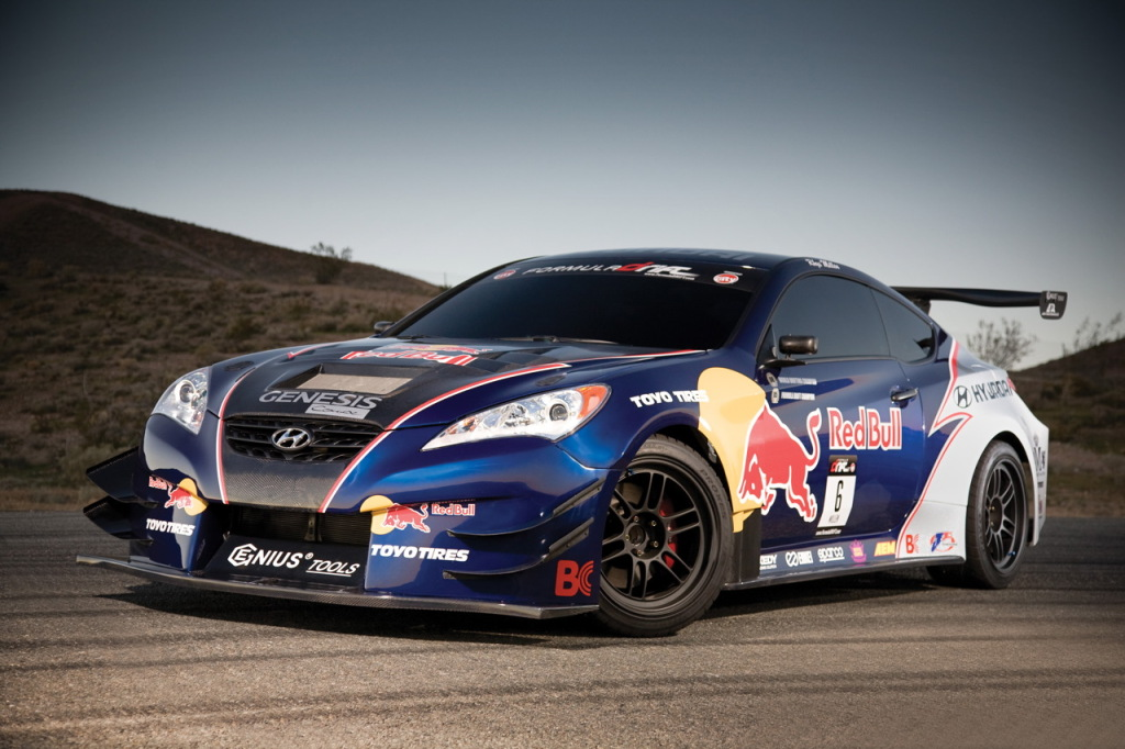 550 Hp Genesis Coupe Drift Car Unveiled Autoevolution
