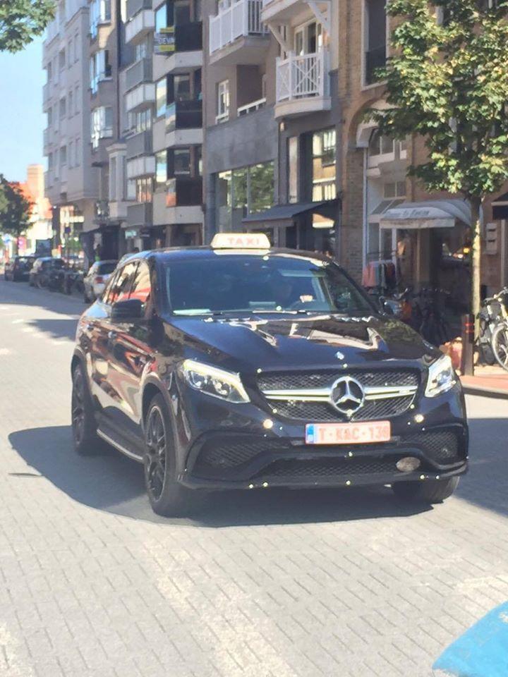Mercedes Amg Gle 63 Coupe Taxi In Belgium