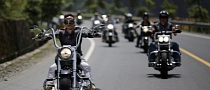 5th Annual Harley Davidson National Rally in China [Photo Gallery]