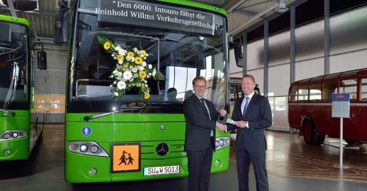 6000th Mercedes-Benz Intouro Delivered