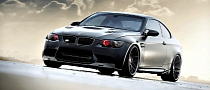 625 HP BMW M3 Gets Frozen Black Finish and Strasse Forged Wheels [Photo Gallery]