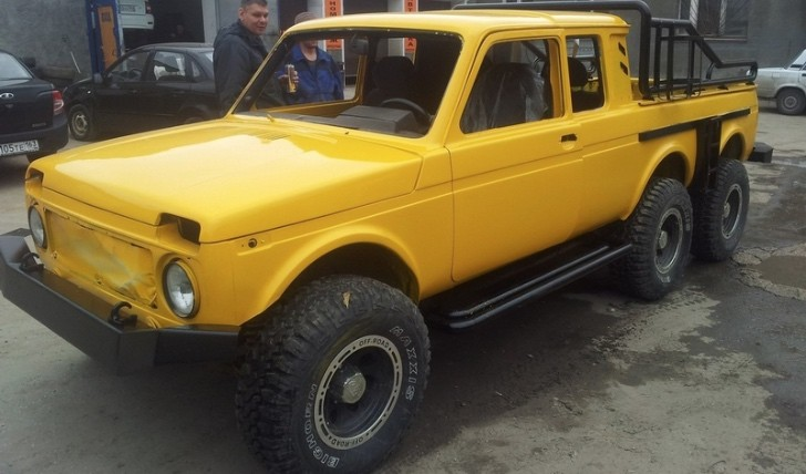 6x6 Lada Niva Is Russia's Response to German Engineering - Photo Gallery