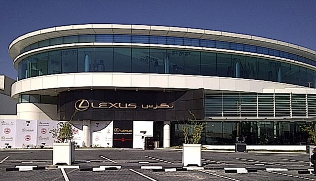 lexus dealership. This Is How The New 7-star Lexus Dealership Looks Like