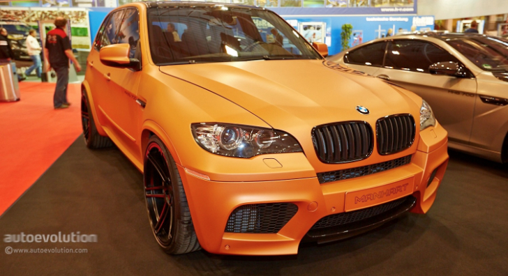 700 HP BMW E70 X5 M Shows Up at Essen Motor Show 2013 with Manhart Badge [Live Photos]
