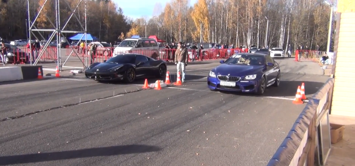 700 HP BMW M6 Takes on Ferrari 458 Italia and E63 AMG [Video]