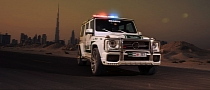 700 HP Brabus Mercedes G63 AMG Becomes Dubai Police Car [Photo Gallery]