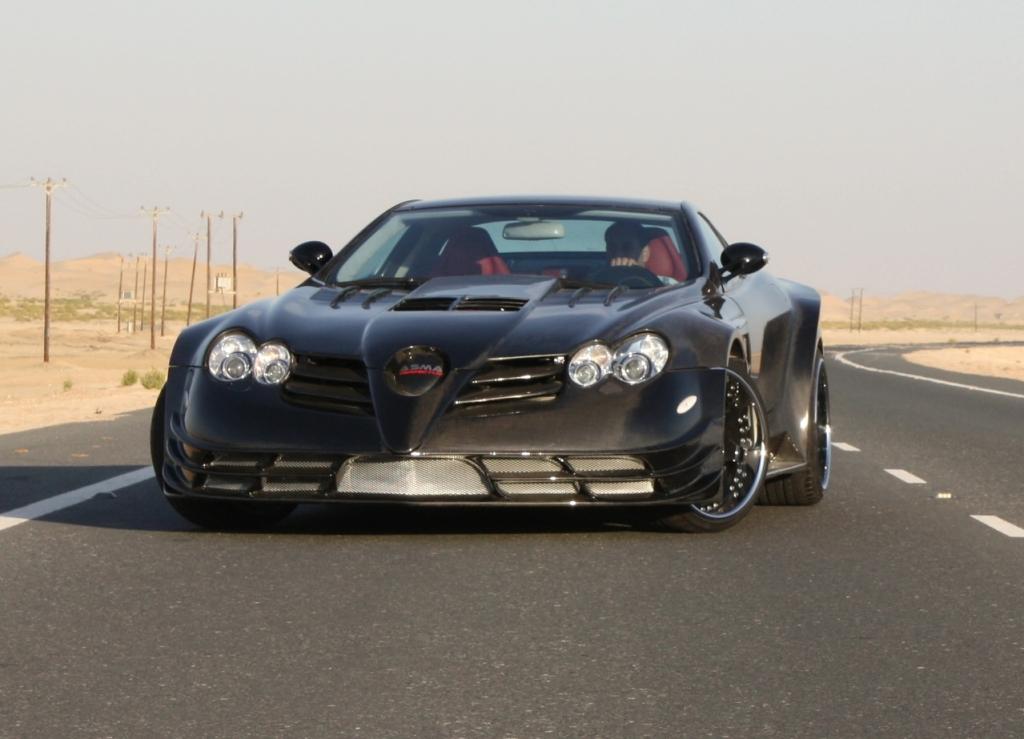 700 hp Perfectus SLR McLaren Presented by ASMA Design - autoevolution