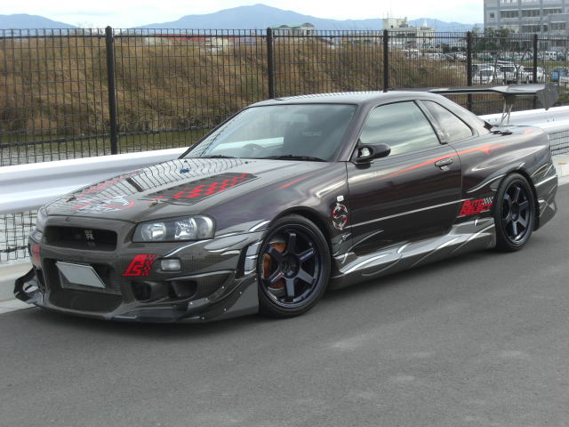 nissan skyline r34 gtr for sale in autos weblog. Black Bedroom Furniture Sets. Home Design Ideas