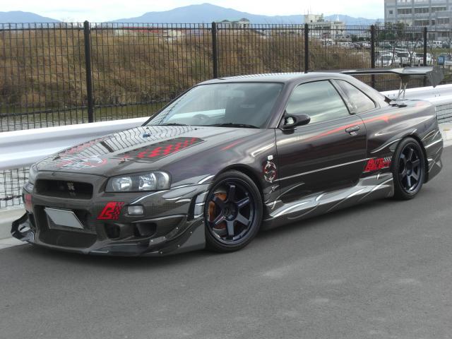 700HP R34 Auto Select Nissan GT-R for Sale - autoevolution
