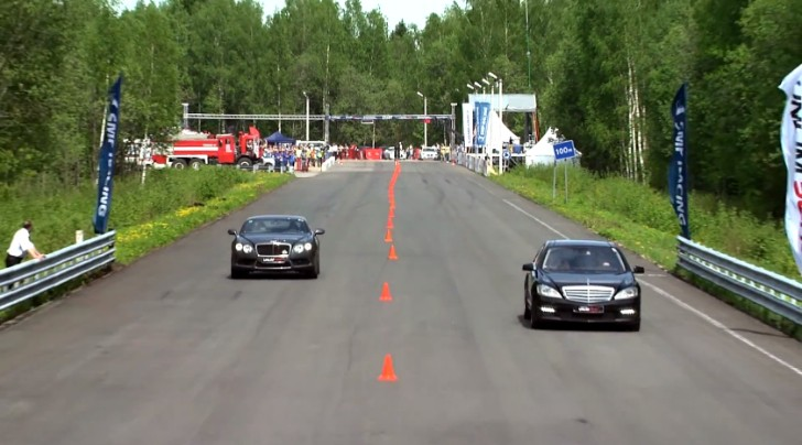 700 hp S 65 AMG W221 Wins Some, Loses Some [Video]