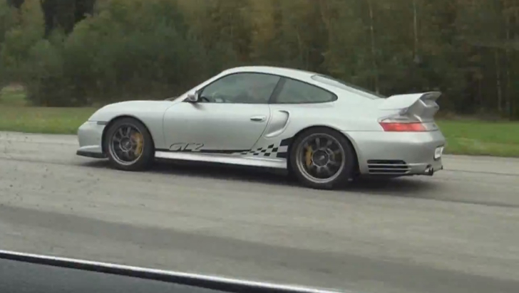 700 Whp Bmw E46 330xi Races A Porsche 9ff 911 Gt2