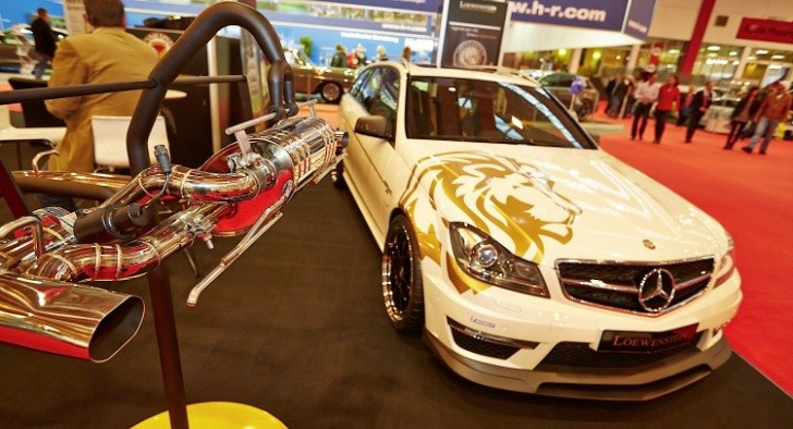 702 hp C 63 AMG Wagon by Loewenstein at Essen Motor Show [Photo Gallery]