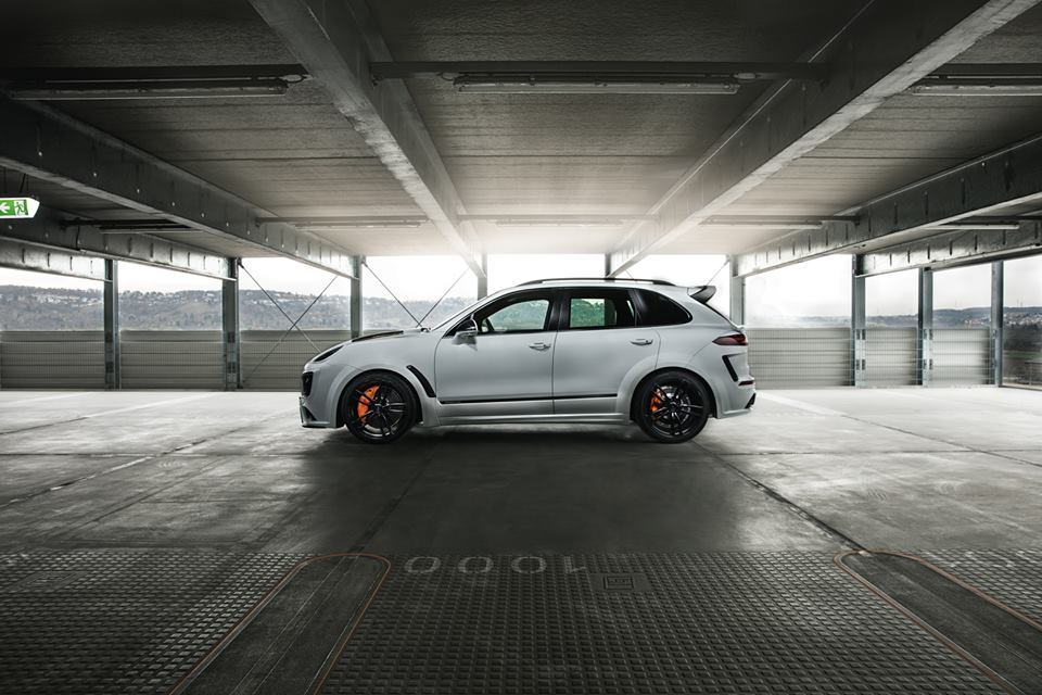 720 Hp Techart Magnum Sport Is A Porsche Cayenne Turbo S Gym Freak