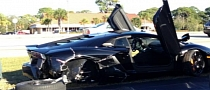 79-Year-Old Florida Woman Wrecks Lamborghini Aventador
