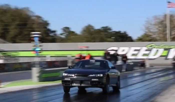 7s Nissan 240sx Comes In Full Street Trim Shows What A 1 300 Hp S14