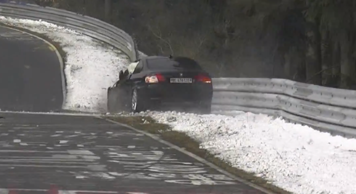 8-Minute Compilation of Nurburgring Crashes Has Plenty of BMWs