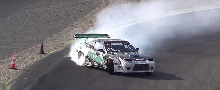 800 Hp Nissan Gt R Engine Powers Insane 200sx Drift Car