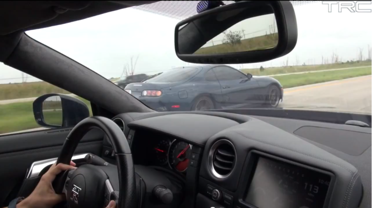 800 HP Toyota Supra Beats a Nissan GT-R [Video]